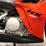 Hero HX250R at AIMExpo engine