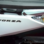 Honda Forza 125 badge at the 2014 Paris Motor Show