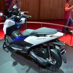 Honda Forza 125 rear three quarter at the 2014 Paris Motor Show