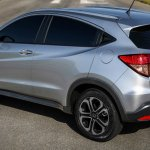 Honda HR-V Brazil rear three quarter