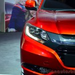 Honda HR-V prototype for Europe headlamp at 2014 Paris Motor Show
