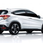 Honda Vezel China rear three quarter