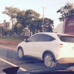 Honda Vezel rear quarter spied in Brazil