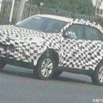 Honda XR-V spied
