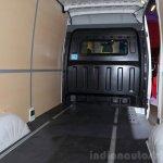 Hyundai H350 cargo bay at the 2014 Paris Motor Show