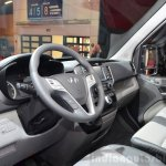 Hyundai H350 interior at the 2014 Paris Motor Show