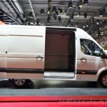 Hyundai H350 side at the 2014 Paris Motor Show