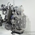 Hyundai Kappa 1.0-litre T-GDI three quarters angle
