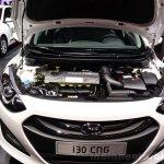 Hyundai i30 CNG engine bay at the 2014 Paris Motor Show