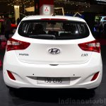 Hyundai i30 CNG rear 1at the 2014 Paris Motor Show