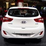 Hyundai i30 CNG rear 1at the 2014 Paris Motor Show