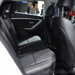 Hyundai i30 CNG rear seats at the 2014 Paris Motor Show