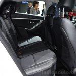 Hyundai i30 CNG rear seats at the 2014 Paris Motor Show