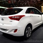 Hyundai i30 CNG rear three quarter 1 at the 2014 Paris Motor Show