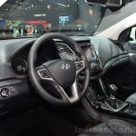 Hyundai i40 48V Hybrid interior at the 2014 Paris Motor Show