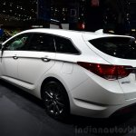 Hyundai i40 48V Hybrid rear three quarter at the 2014 Paris Motor Show