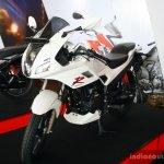 Hero Karizma R fornt three quarter at the 2014 Colombo Motor Show Sri Lanka