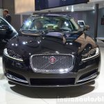 Jaguar XF special edition front at the 2014 Paris Motor Show