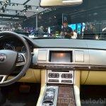 Jaguar XF special edition interior at the 2014 Paris Motor Show