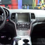 Jeep Grand Cherokee SRT Red Vapor center console at the 2014 Paris Motor Show