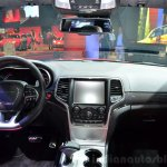 Jeep Grand Cherokee SRT Red Vapor dashboard at the 2014 Paris Motor Show