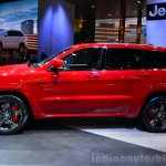 Jeep Grand Cherokee SRT Red Vapor side at the 2014 Paris Motor Show