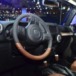 "Jeep Wrangler Unlimited Rubicon ""Stealth"" show car dashboard at the 2014 Paris Motor Show"