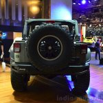 "Jeep Wrangler Unlimited Rubicon ""Stealth"" show car rear at the 2014 Paris Motor Show"