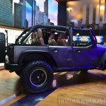 "Jeep Wrangler Unlimited Rubicon ""Stealth"" show car side at the 2014 Paris Motor Show"