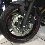 Kawasaki ER-6n front wheel from the India launch