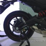 Kawasaki ER-6n rear disc brake from the India launch
