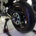 Kawasaki ER-6n rear wheel from the India launch