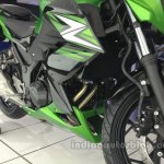 Kawasaki Z250 engine from the India launch