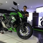 Kawasaki Z250 from the India launch