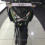 Kawasaki Z250 front view from the India launch