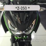 Kawasaki Z250 headlamp from the India launch