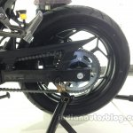Kawasaki Z250 rear disc brake from the India launch