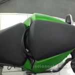 Kawasaki Z250 rear split seat from the India launch