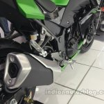 Kawasaki Z250 tailpipe from the India launch