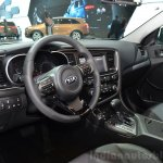 Kia Optima Mild Hybrid concept dashboard at the 2014 Paris Motor Show
