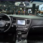 Kia Optima Mild Hybrid concept interior at the 2014 Paris Motor Show