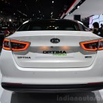 Kia Optima Mild Hybrid concept rear at the 2014 Paris Motor Show