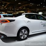 Kia Optima Mild Hybrid concept rear three quarter at the 2014 Paris Motor Show