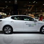 Kia Optima Mild Hybrid concept side at the 2014 Paris Motor Show