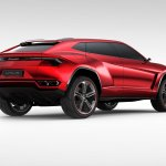 Lamborghini Urus Concept rear three quarters press image