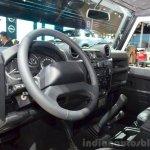 Land Rover Defender Black Pack dashboard for France at the 2014 Paris Motor Show