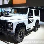 Land Rover Defender Black Pack for France at the 2014 Paris Motor Show