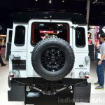 Land Rover Defender Black Pack rear for France at the 2014 Paris Motor Show