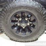 Land Rover Defender Black Pack wheel for France at the 2014 Paris Motor Show