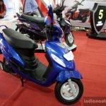 Mahindra Arro blue front three quarter at the 2014 Colombo Motor Show Sri Lanka